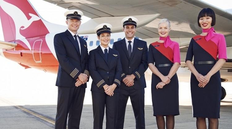 Phi hành đoàn Qantas. Ảnh: Aviation Voice.