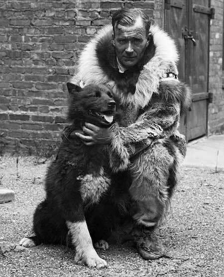 Gunnar Kaasen và chó Balto. Ảnh: Wikipedia.