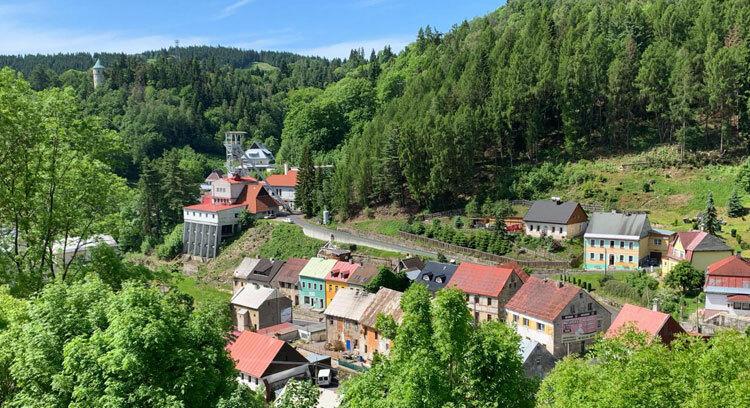 Thị trấn Jáchymov vừa được UNESCO công nhận là di sản thế giới. Ảnh: Eliot Stein/BBC.