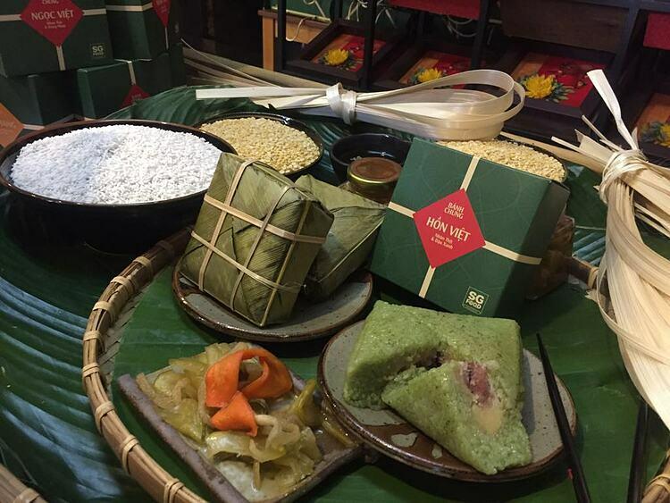 Món ăn không thể thiếu trong mỗi gia đình Việt mỗi khi Tết đến. Ảnh: Nguyễn Nam.