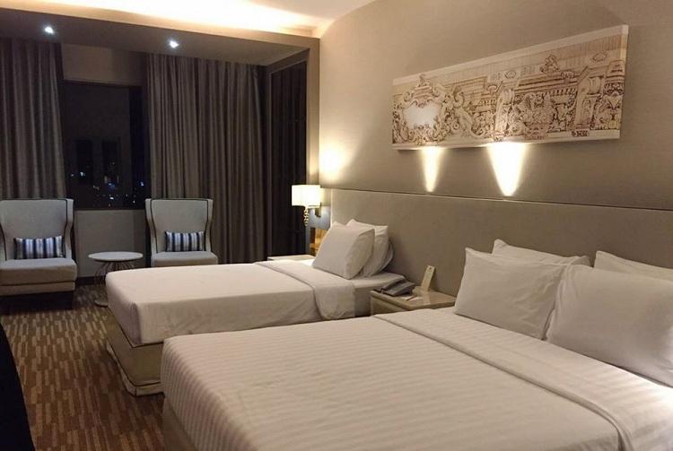 Phòng nghỉ trong một tour Thái Lan. Ảnh: Tugo.