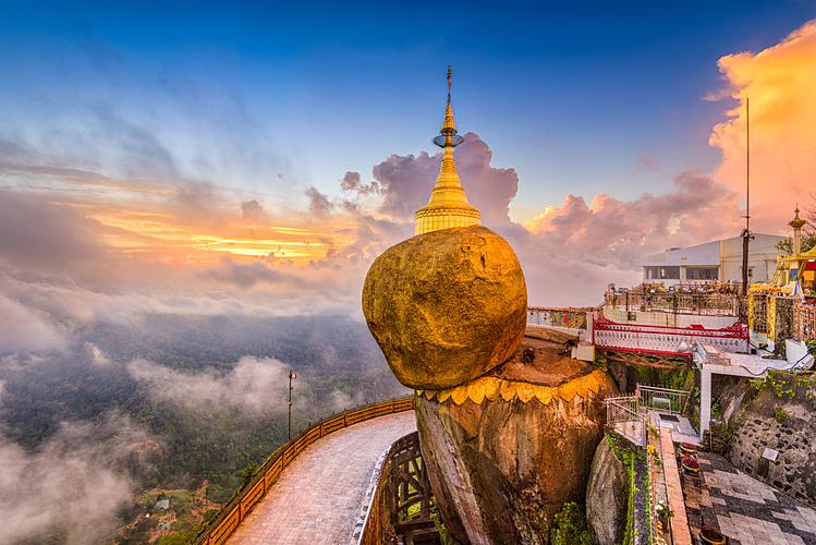 Myanmar là điểm hành hương thú vị của các tín đồ Phật giáo.