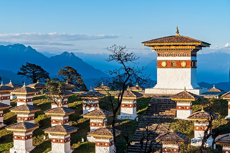 Bhutan được mệnh danh là Vương quốc hạnh phúc.