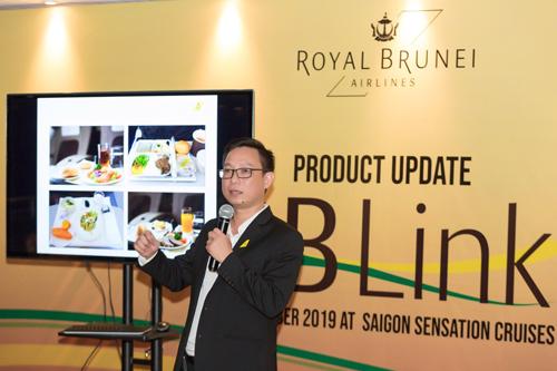 Ông Trần Giang San - Tổng Giám đốc kinh doanh tại Việt Nam của Royal Brunei Airlines