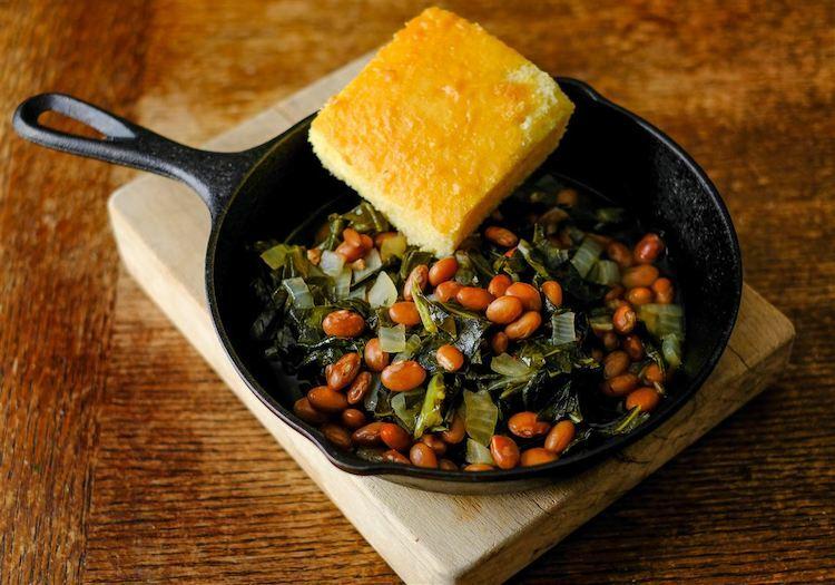 Món ăn lấy may dịp đầu nămcủa người dân miền nam nước Mỹ. Ảnh: Toledo Blade.