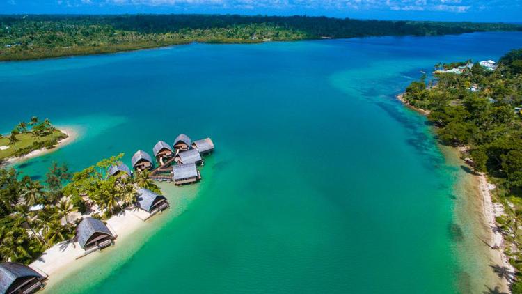 Vanuatu cách Australia gần 2.000 km về phía đông, thủ đô là Port Vila. Ảnh: Travel Online.