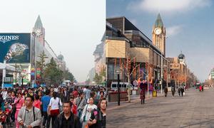 Bắc Kinh trước và trong Covid-19