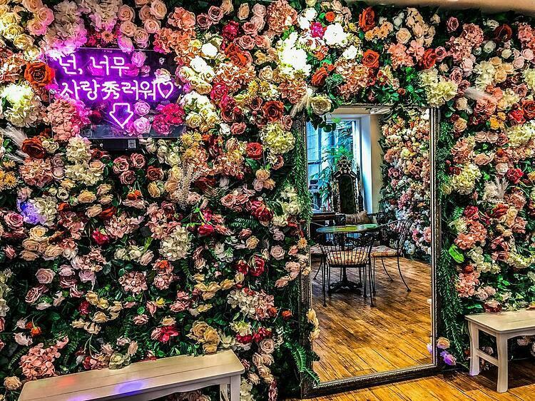 Phòng hát KaraokeHát Karaoke cùng bạn bè ở Seoul là một trong những trải nghiệm được người bản xứ yêu thích. Luxury Su Noraebang là một trong những Noraebang (phòng hát) nổi tiếng nhất thành phố. Điểm cộng của phòng hát là nội thất được thiết kế đẹp đẽ và dịch vụ tốt. Giá của dịch vụ hát karaoke ở đây được tính theo giờ. Nếu bạn hát vào trước buổi trưa, giá của dịch vụ sẽ là 1.000 won/người, gần 20.000 VNĐ (bao gồm bỏng ngô, kem và đồ uống không giới hạn). Còn sau 19h, giá dịch vụ là 18.000 - 22.000 won (350.000 - 430.000 đồng).