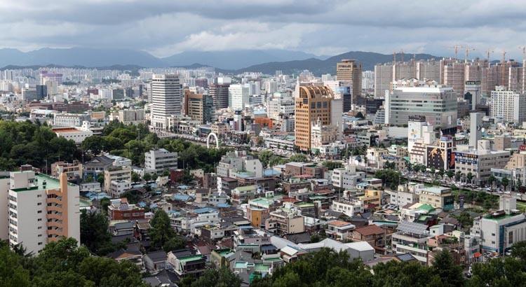 Gwangju là thành phố lớn thứ 6. Gwangju sử dụng chính những nét văn hóa ẩm thực truyền thống của mình để tạo nên điểm nhấn. Ảnh: BBC.