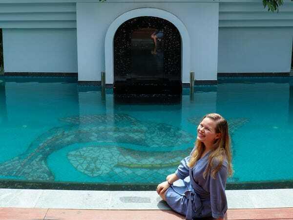 Kate nghỉ trong một resort 5 sao tại Phú Quốc. Ảnh: Kate Taylor/Business Insider.