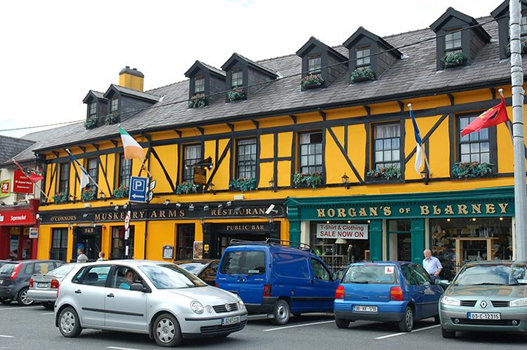 Thị trấn Blarney cách thành phố Cork (thành phố lớn thứ hai của đất nước) 8 km. Ảnh: Mizkit.
