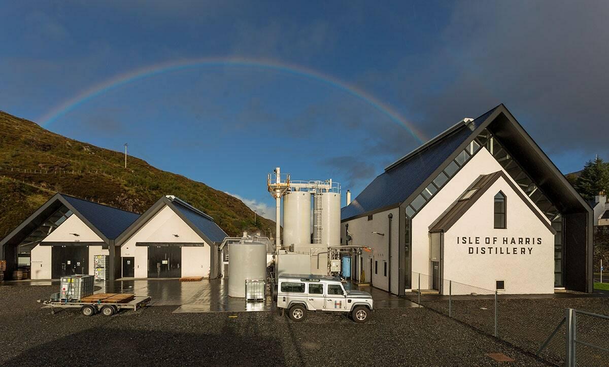Nhà máy chưng cất rượu tại Edinburgh. Scotland vốn nổi tiếng với rất nhiều loại rượu với hương vị phong phú. Ảnh:Harris Distillery.