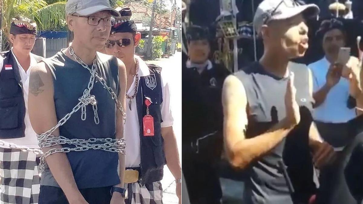 Cảnh sát buộc phải dùng biện pháp mạnh để đưa du khách về nhà. Ảnh:7News.
