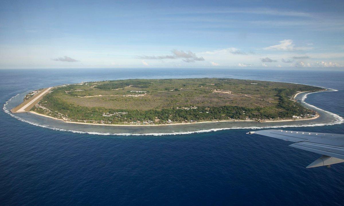Nauru là quốc gia nhỏ nhất thứ hai của Liên Hợp Quốc về diện tích (sau Monaco), chỉ với hơn 10.000 người, nhỏ thứ hai về dân số (sau Tuvalu). Ảnh:Remi Chauvin/The Guardian.