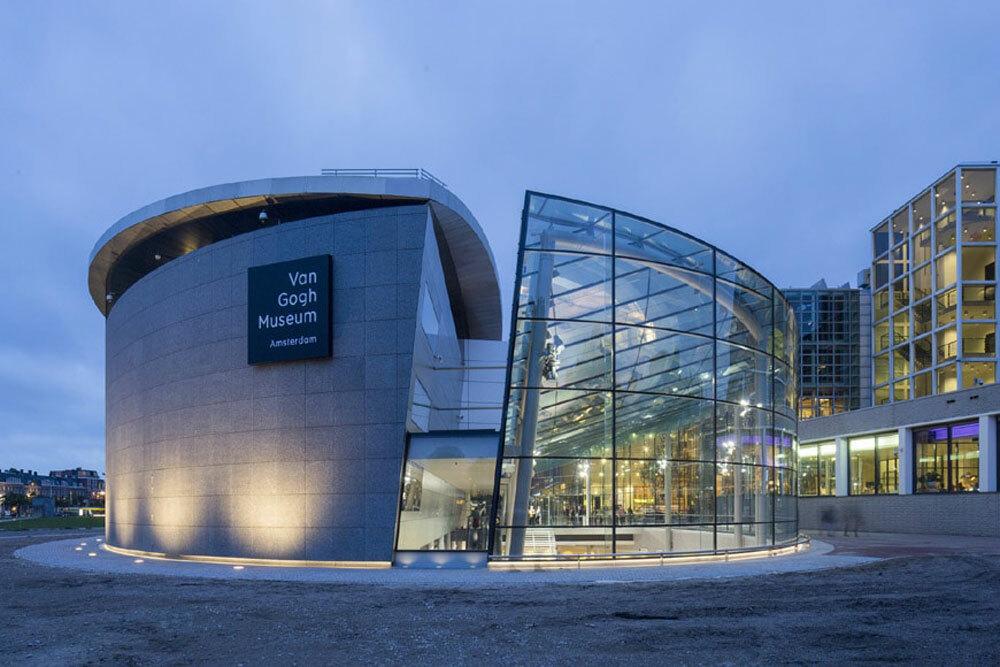 Bảo tàng Van Gogh ở Hà Lan là một trong những nơi có bộ sưu tập lớn nhất và quan trọng nhất về các tác phẩm của danh họa Van Gogh. Ảnh: Inexhibit.