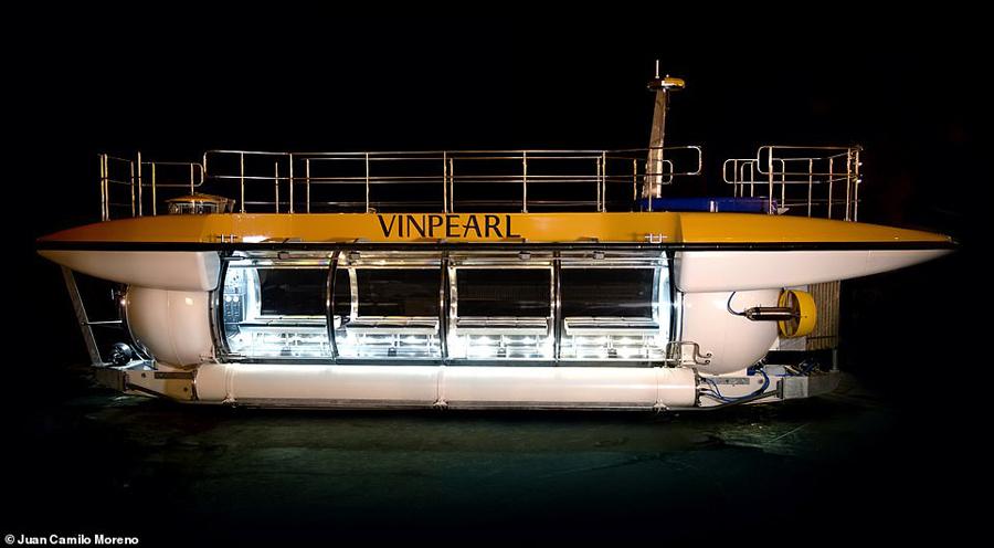 Đại diện đơn vị cho biết, DeepView24 là tàu ngầm du lịch trang bị nhiều tiến bộ công nghệ nhất được bán ra thị trường trong suốt 2 thập kỷ qua. Tàu ra đời nhằm đáp ứng nhu cầu của khách du lịch yêuthích các kỳ nghỉ phiêu lưu.