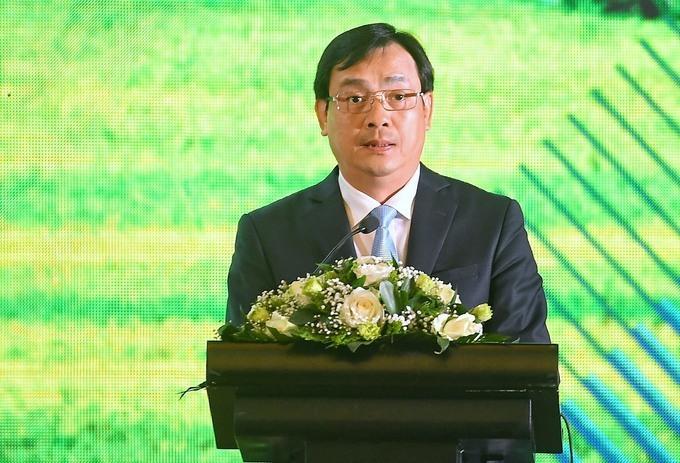 Ông Nguyễn Trùng Khánh tại hội nghị du lịch do VnExpress tổ chức vào ngày 16/5.