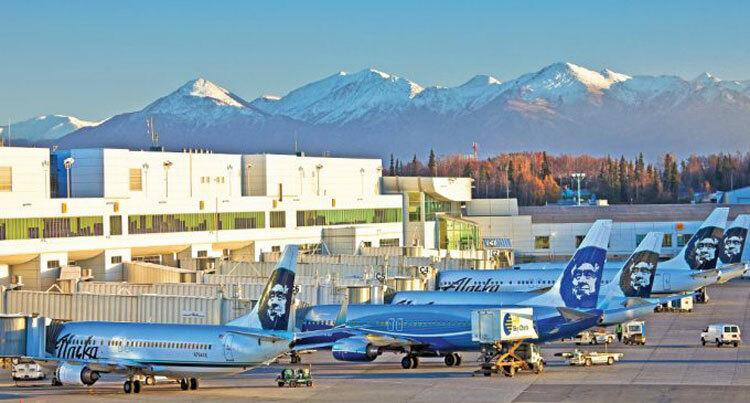 Sân bay được đặt tên theo tên của cố thượng nghị sĩ MỹTed Stevens. Ảnh: Airways Magazine.