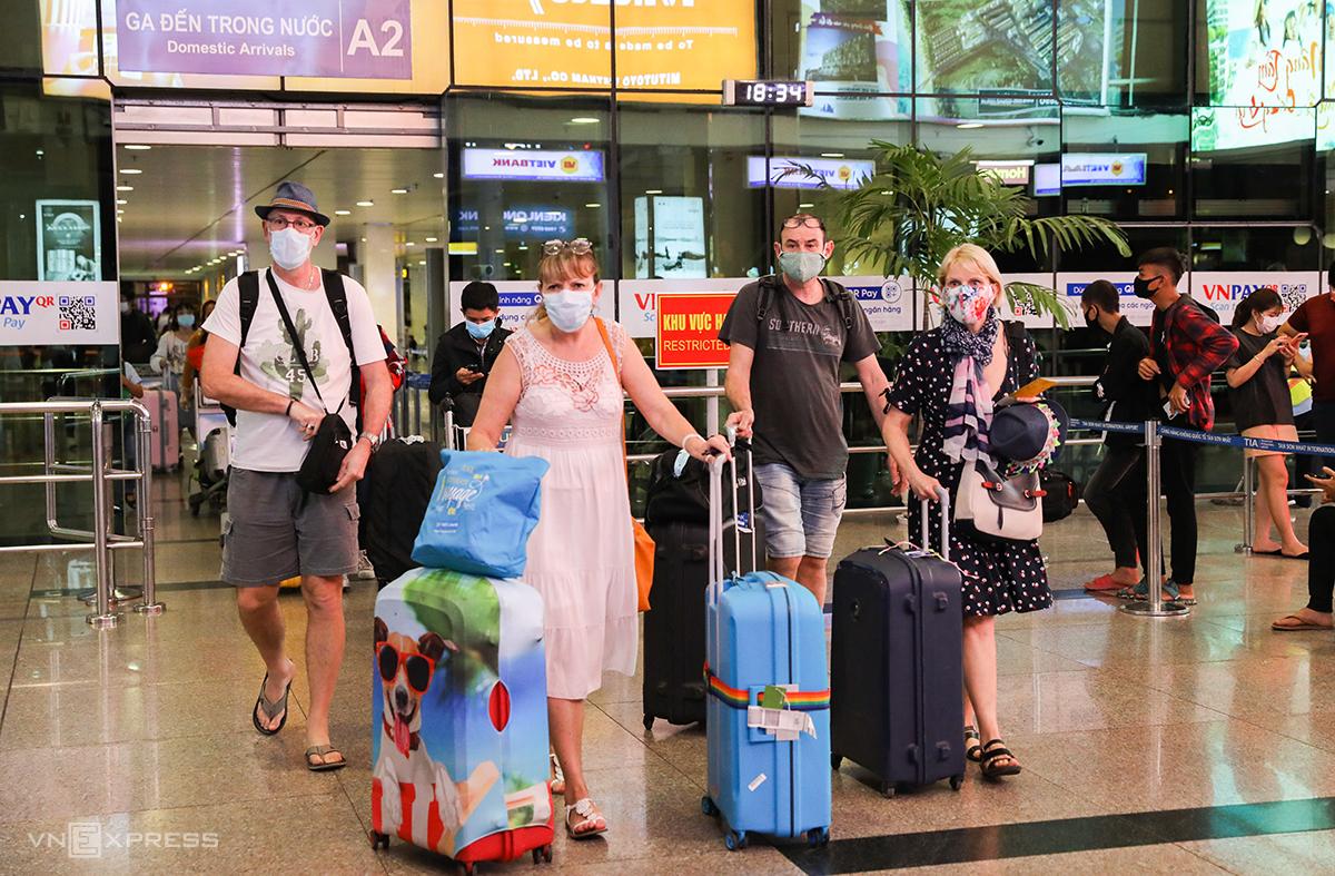 Việt Nam là điểm đến được tìm kiếm nhiều nhất cho các chuyến bay quốc tế ở châu Âu, khi các nền kinh tế phục hồi từ đại dịch. Ảnh: Quỳnh Trần.