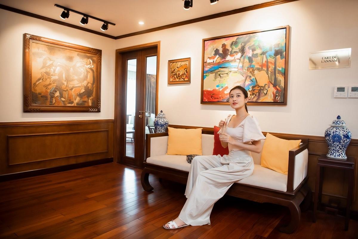Du thuyền Huyền My lựa chọn có phong cách kiến trúc Đông Dương những năm 1930 của thế kỷ trước.