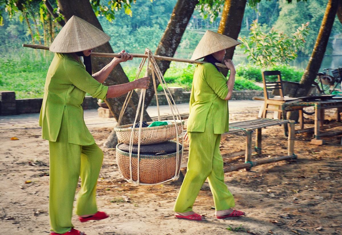 Nét dân dã ở phiên chợ Hương xưa làng cổ - 4