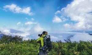 Săn mây trên đỉnh núi Sừng Trâu