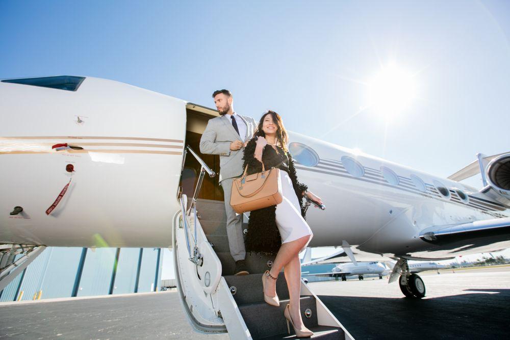 Chuyến bay tư nhân được giới nhà giàu ưa chuộng vì đảm bảo riêng tư, an toàn và thuận tiện cho lịch trình cá nhân. Ảnh: George Lopez Foundation.