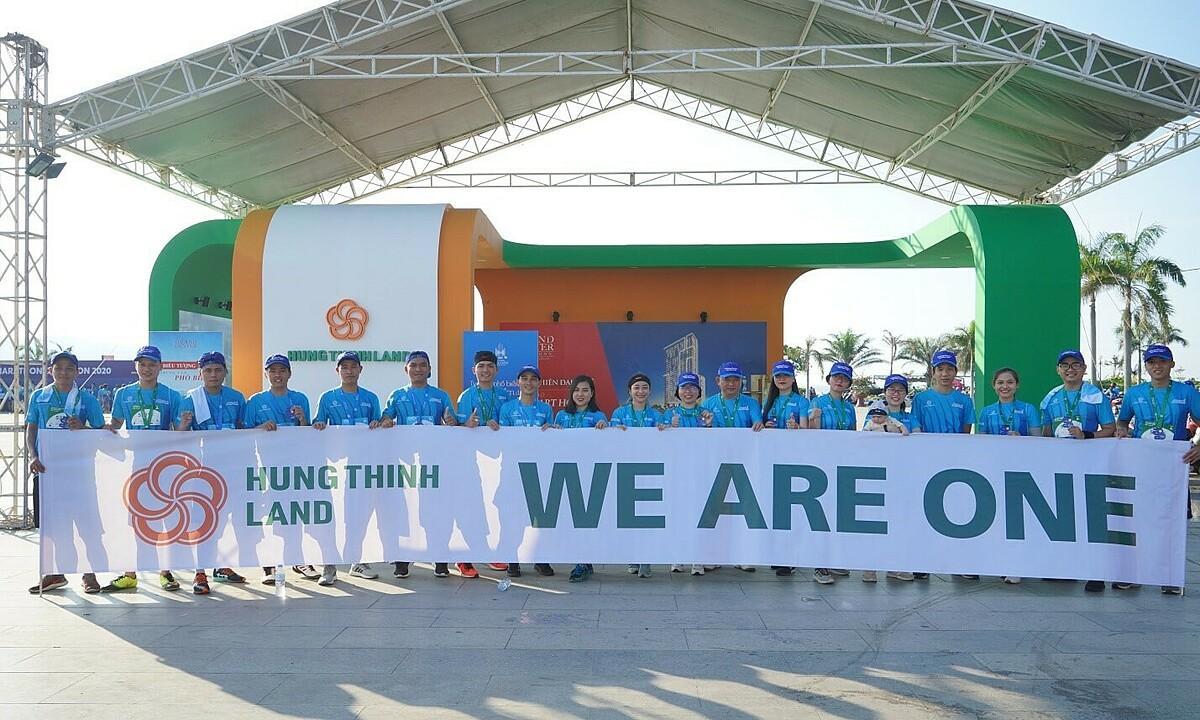 Đội Hưng Thịnh Land hào hứng tham gia VM Quy Nhơn 2020.