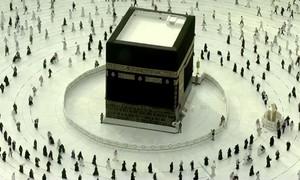 Thánh địa Mecca không còn hàng triệu người chen chân