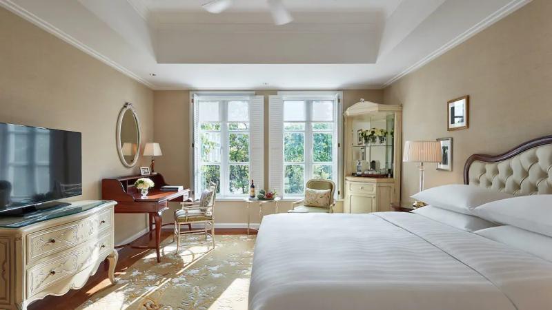 Một số khách sạn từ 4 sao, căn hộ cao cấp cho khách thuê lẻ như Park Hyatt Saigon (ảnh), Norfolk Mansion, Mai House, Vinpearl Luxury Landmark 81, Liberty Central Saigon Citypoint, Lotus Saigon Hotel... đồng loạt giảm giá kích cầu. Ảnh: Hyatt