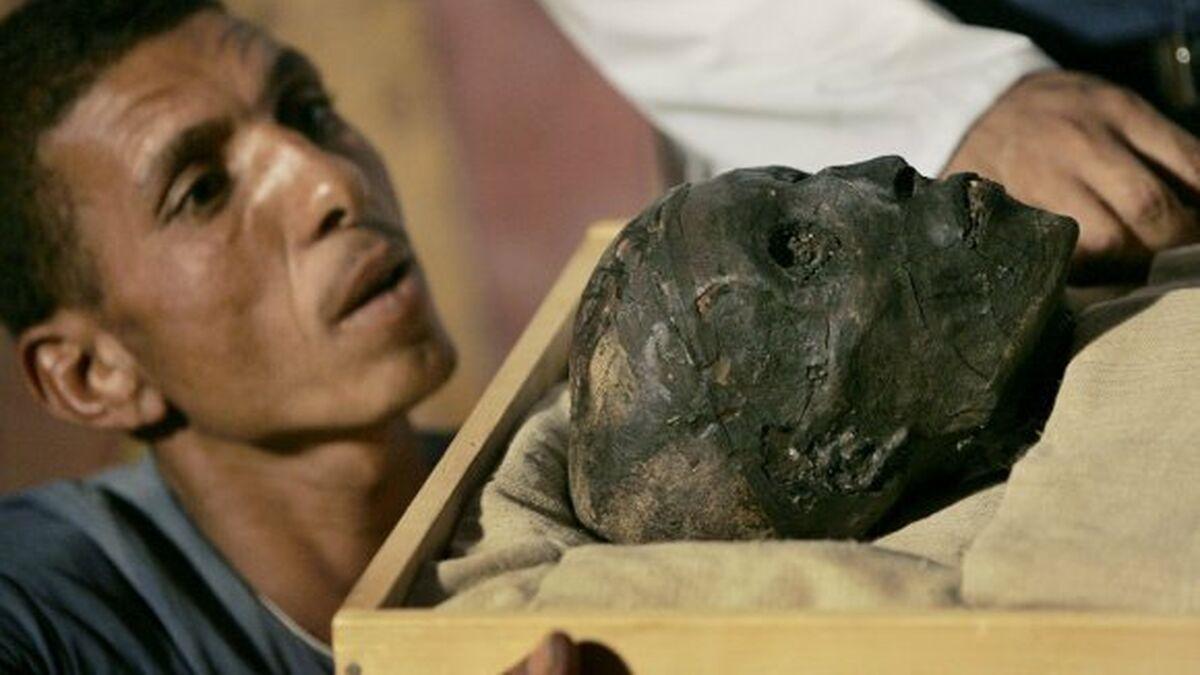 Vua Tut băng hà năm 18 hoặc 19 tuổi. Nguyên nhân cái chết của ông vẫn là một bí ẩn. Ảnh: AFP