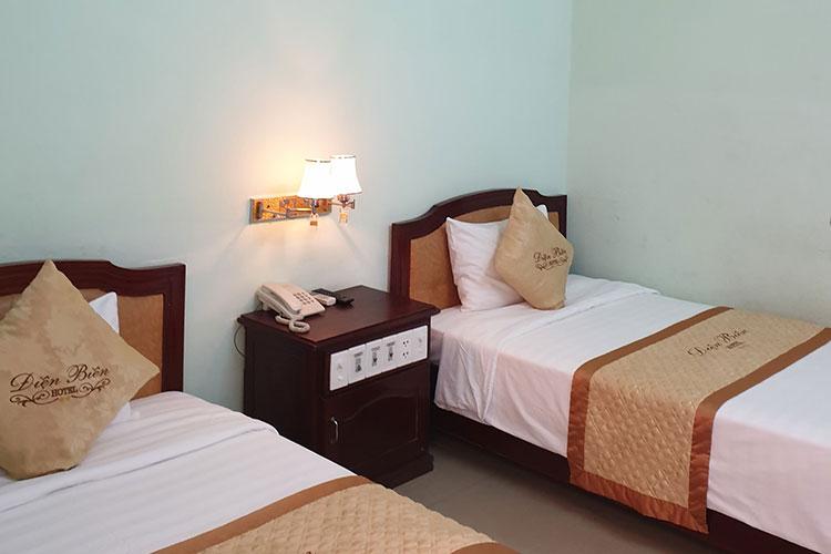 Nội thất khách sạn Điện Biên. Ảnh: Sở Du lịch Thừa-Thiên Huế.