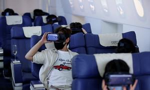 Tour du lịch thực tế ảo trên ghế hạng nhất