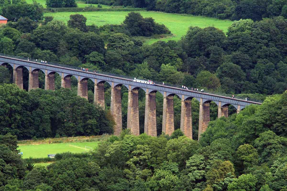 Ảnh: Pontcysyllte Aqueduct
