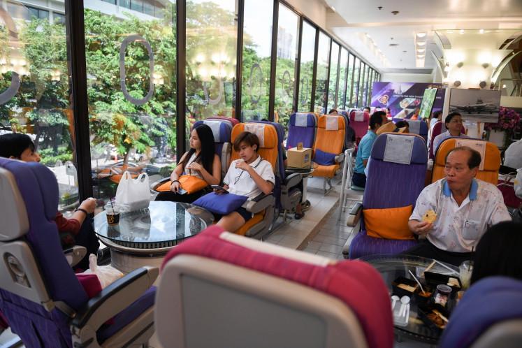 Không gian nhà hàng. Ảnh: Reuters