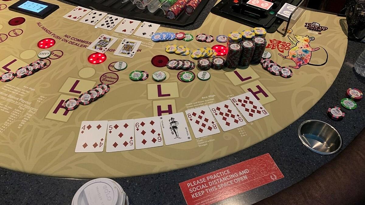 Bàn chơi jackpot của du khách đến từ Connecticut. Ảnh: Caesars Entertainment