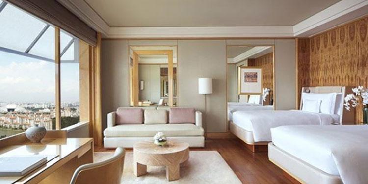 Du khách may mắn Van Dee đã rất phấn khích khi biết khách sạn mình sẽ ở cách ly khi tới Singapore.