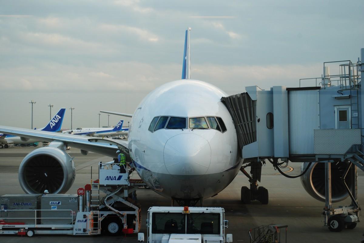 Phía bên phải máy bay để dành cho các bộ phận mặt đất làm việc như nạp nhiên liệu, vận chuyển hàng hóa, suất ăn. Ảnh: Aircraf Nerds