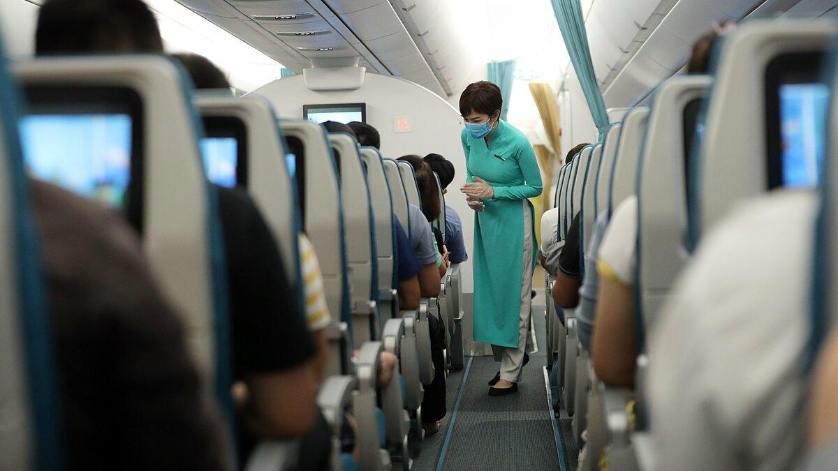 Đánh giá nhu cầu khách đi lại tăng, các hãng hàng không cũng bắt đầu kế hoạch tăng tần suất khai thác nhiều chặng bay nội địa. Ảnh: VNA