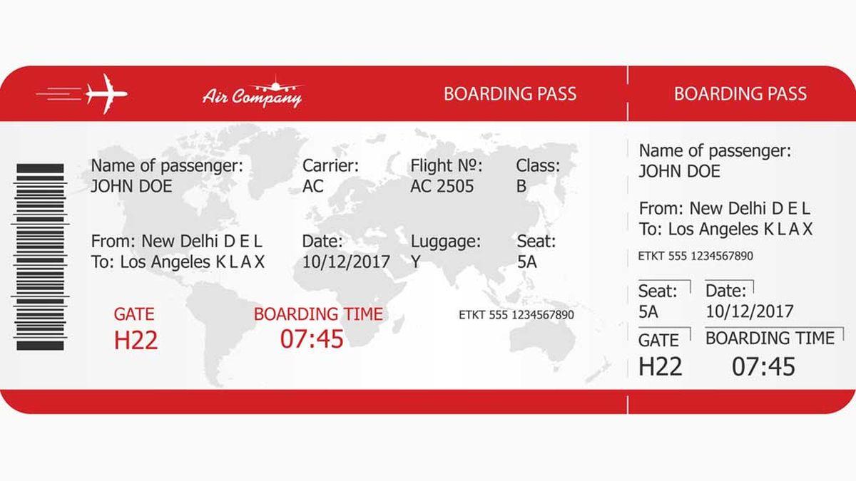 Việc khoe vé máy bay trên mạng xã hội tiềm ẩn nhiều rủi ro, vì chúng tiết lộ nhiều thông tin cá nhân hơn bạn nghĩ. Ảnh: Travel - Nine
