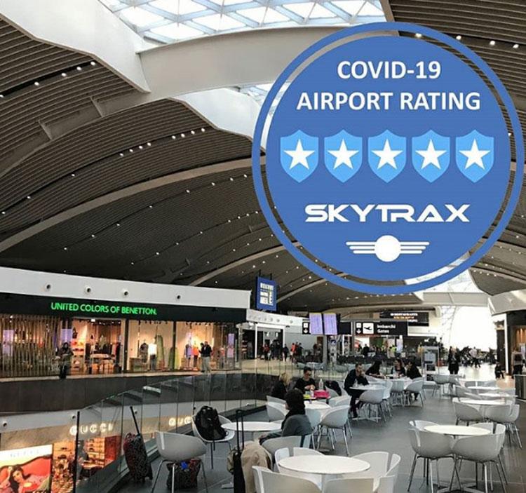 Fiumicino Rome là một trong những sân bay bận rộn nhất châu Âu, nằm trên diện tích 29km2. Ảnh: Fox News