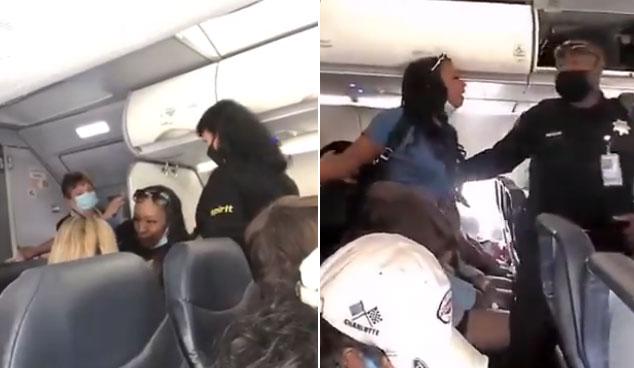 Nữ hoàng California bị mời ra khỏi máy bay