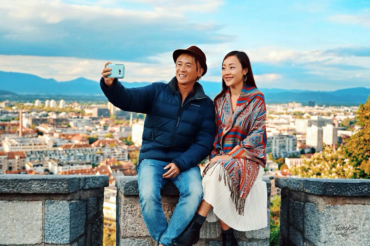 Anh Đỗ Tom và chị Trần Kim