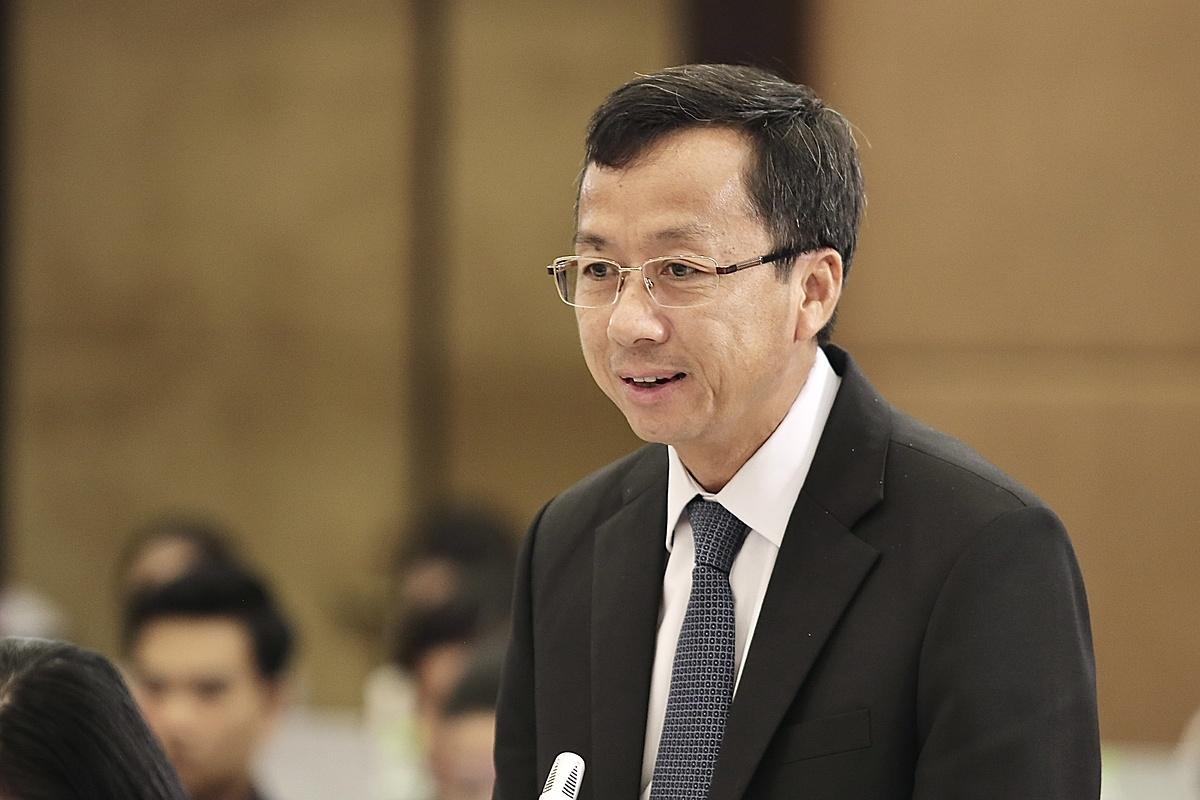 Ông Đặng Thanh Thủy - Phó Tổng Giám đốc Tập đoàn Vingroup phát biểu tại buổi tọa đàm.