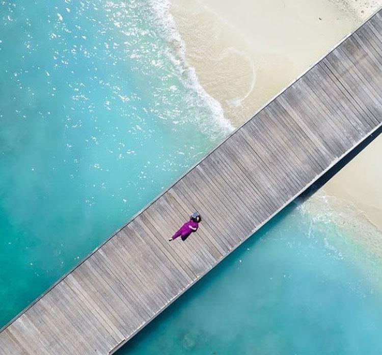 Ứng viên trúng tuyển sẽ được làm việc ở nơi được mệnh danh là thiên đường nơi hạ giới tại Nam Á. Ảnh: Instagram