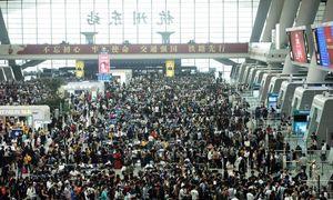 Biển người Trung Quốc đi nghỉ 'Tuần lễ Vàng'