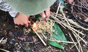Kinh nghiệm sinh tồn trong rừng của khách Việt