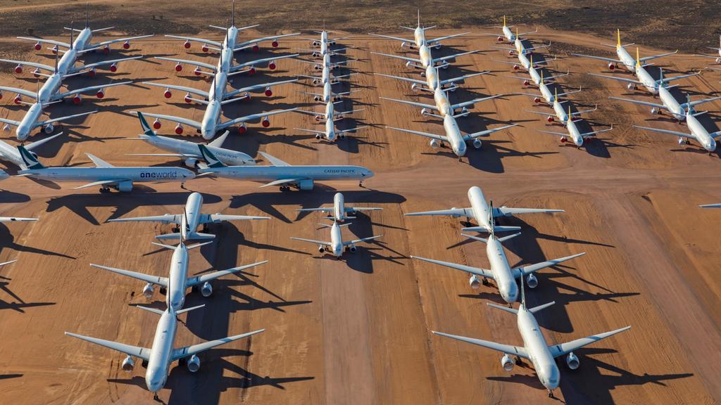 Công ty quản lý kho bãi đang có kế hoạch mở rộng để nơi này có thể chứa thêm 200 máy bay nữa. Ảnh: Seth Jaworski