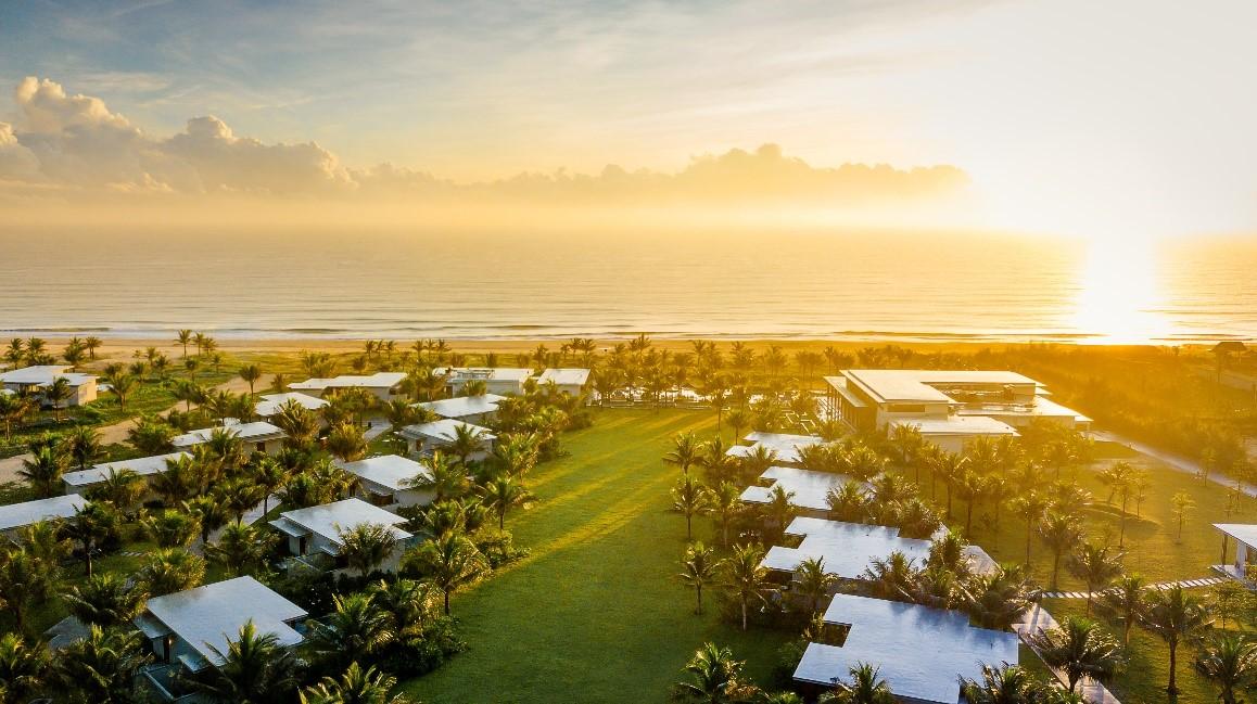 Tất cả phòng nghỉ tại Maia Resort Quy Nhơn là biệt thự với diện tích rộng lên đến 125 m2 cùng khu vườn rợp bóng cây. Ảnh: Maia.