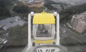 Công viên Nhật cho thuê 'văn phòng' lơ lửng trên không
